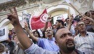 Tunisia   Protest Calling for Truth in Chokri Belaid Assassination